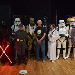 Alan Harris with the Sentinel Squad including Bossk